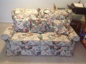Vintage two seater sofa