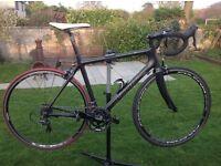 Carbon road bike Planet X pro carbon ultegra, size med/large
