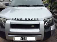 Land Rover Freelander 2.0 diesel automatic, leather, good condition 5 door will p/ex for VW van.