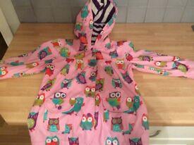 Hatley girls coat age 5
