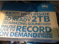 Sky plus hd 3D ready box 2Tb wifi record