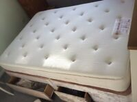 Double Sealy bed and Relyon Matress