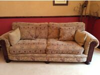 4 seater, 2 seater, chair and footstool