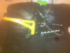 Used Marin wolf ridge mountain bike frame will swap for an Xbox one or £125