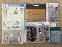 Used stamps and stencils