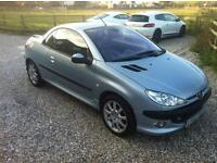 Peugeot 206cc, great little convertible, drives and looks superb, great summer fun, steel roof.