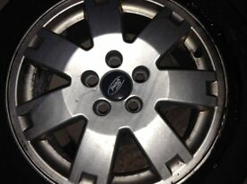 "Ford mondeo alloyed wheels and 17"" multi fit alloyed wheels"
