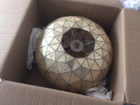 Brand new boxed shell light shade