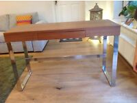 Dwell, modern, wood effect console / hall table with matching TV cabinet m