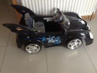 Batman 6 volt electric ride on vehicle