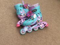 Frozen roller skates