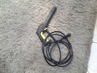 Karcher K2 hose and gun good working order.