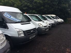 FOR SALE VAUXHALL VIVARO, RENAULT TRAFIC, FORD TRANSIT, FIAT SCUDO, WIDE RANGE OF COMMERCIAL VANS!!!