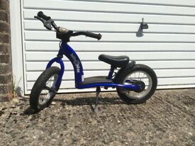 Child's metal balance bike (imported from Germany)