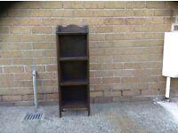 Vintage shelves / bookcase - solid wood