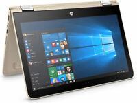 Laptop Core i5. HP Pavilion x360 (Rare Gold Model Core i5, 7th Gen-super fast)