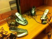 Home phone-answer machine altogether 4 handsets.