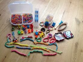 *** Further Reduced Price *** Bundle of Loom Bands, Tools & Accessories