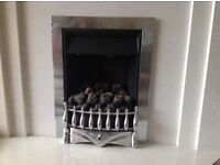 Gas fire. Excellent condition.