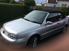 **REDUCED** VW GOLF CABRIO FUTURE CLASSIC only 63,000