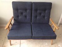 Ercol style two seater setee