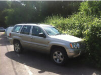 Grand Jeep Cherokee 04 Spares and Repairs but still runs