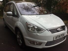 Ford Galaxy 2.0TDCi Titanium x leather revers cam pan roof BUY FOR £58 PER WEEK