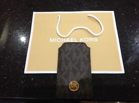 Michael Kors leather iPhone/phone cover/sleeve NEW