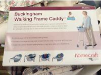 Buckingham walking frame caddy