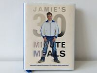 "Cook book by Jamie Oliver ""Jamie's 30 minute meals"""