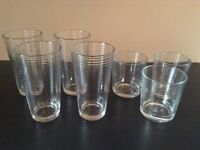 Selection of NEW Modern Glasses (6 in total) from IKEA