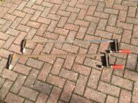 Pair of sash clamps