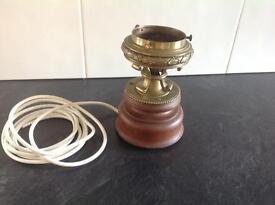 Mahogany Lamp Base