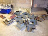 Cast iron gutter spares
