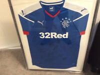 Rangers top signed . Football .
