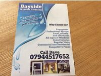 Window cleaning and office cleaning