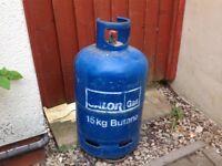 Spare calor gass bottle 15 .kg (empty)