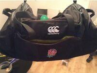 England Canterbury rugby bag