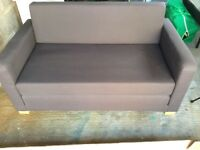 Grey 2 Seater Sofabed