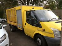 Transit Caged Tipper Truck