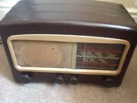 Cossor Radio Melody Maker. Model number 501 AC