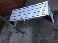 WORK PLATFORM AND STEEL SQUARE RAMMERs