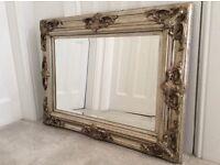 Ornate Gold / Silver mirror