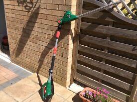 Qualcast 18 V Pole Hedge Trimmer.