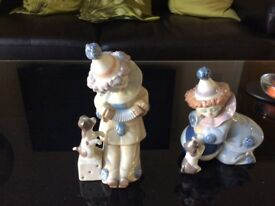 Lladro Clown Statues (2 for sale)