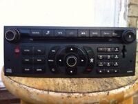Peugeot / Citroen Sat Nav Navigation System CD Player. RT3-N3-07 broken cd drive