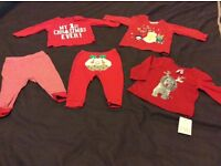 Christmas outfits 3-6 months
