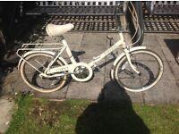 Raleigh folding bike £55