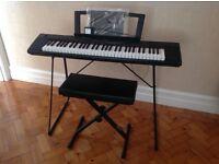 Yamaha Piaggero NP-11 electric style piano/keyboard