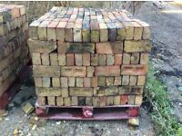 Pallets of reclaimed bricks £200 per pallet